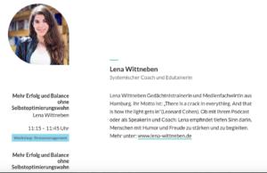 Brigitte_Balance_day_Lena_Wittneben_speaker